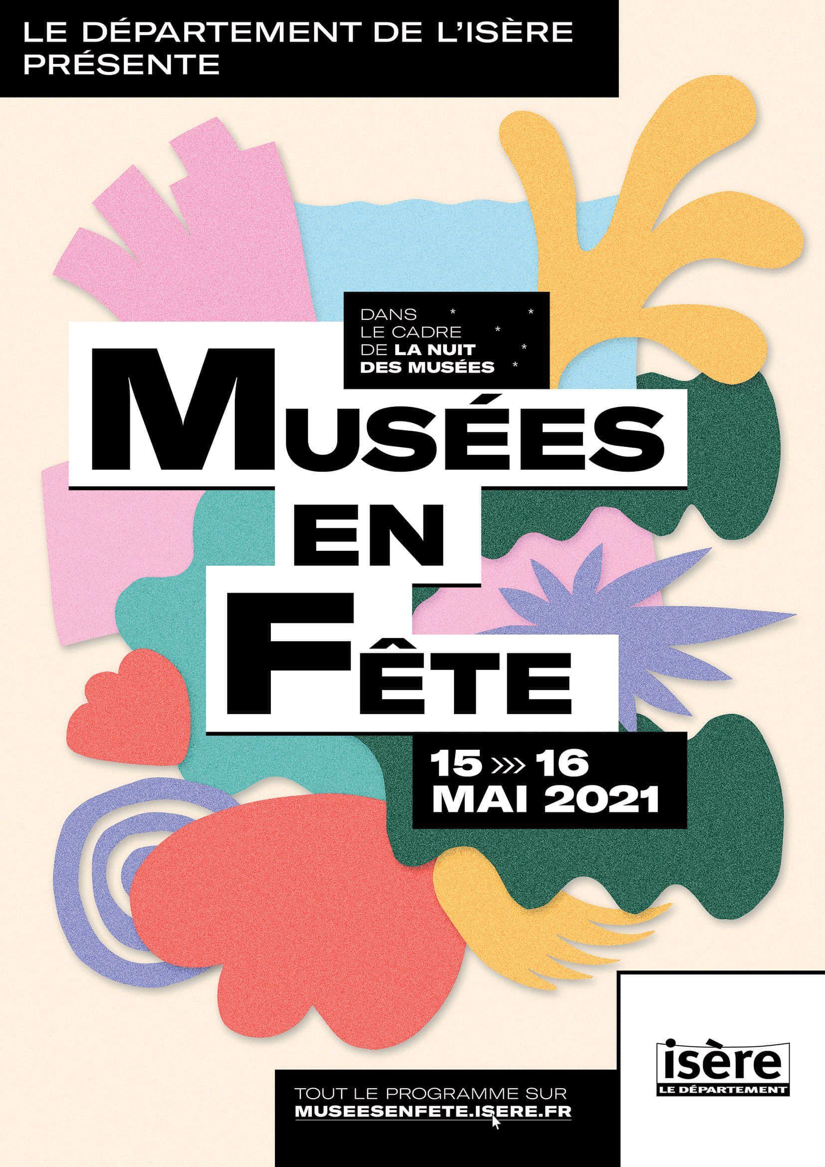 Affiche Musées en fête 2021
