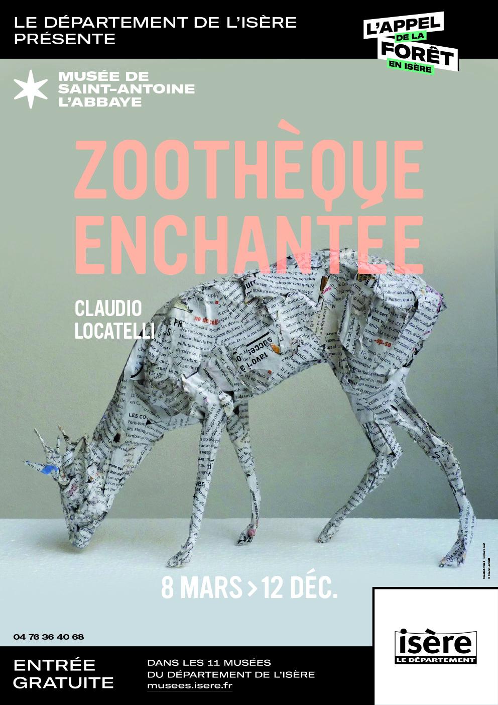 """Exposition """"La zoothèque enchantée"""", Musée Saint-Antoine l'Abbaye"""
