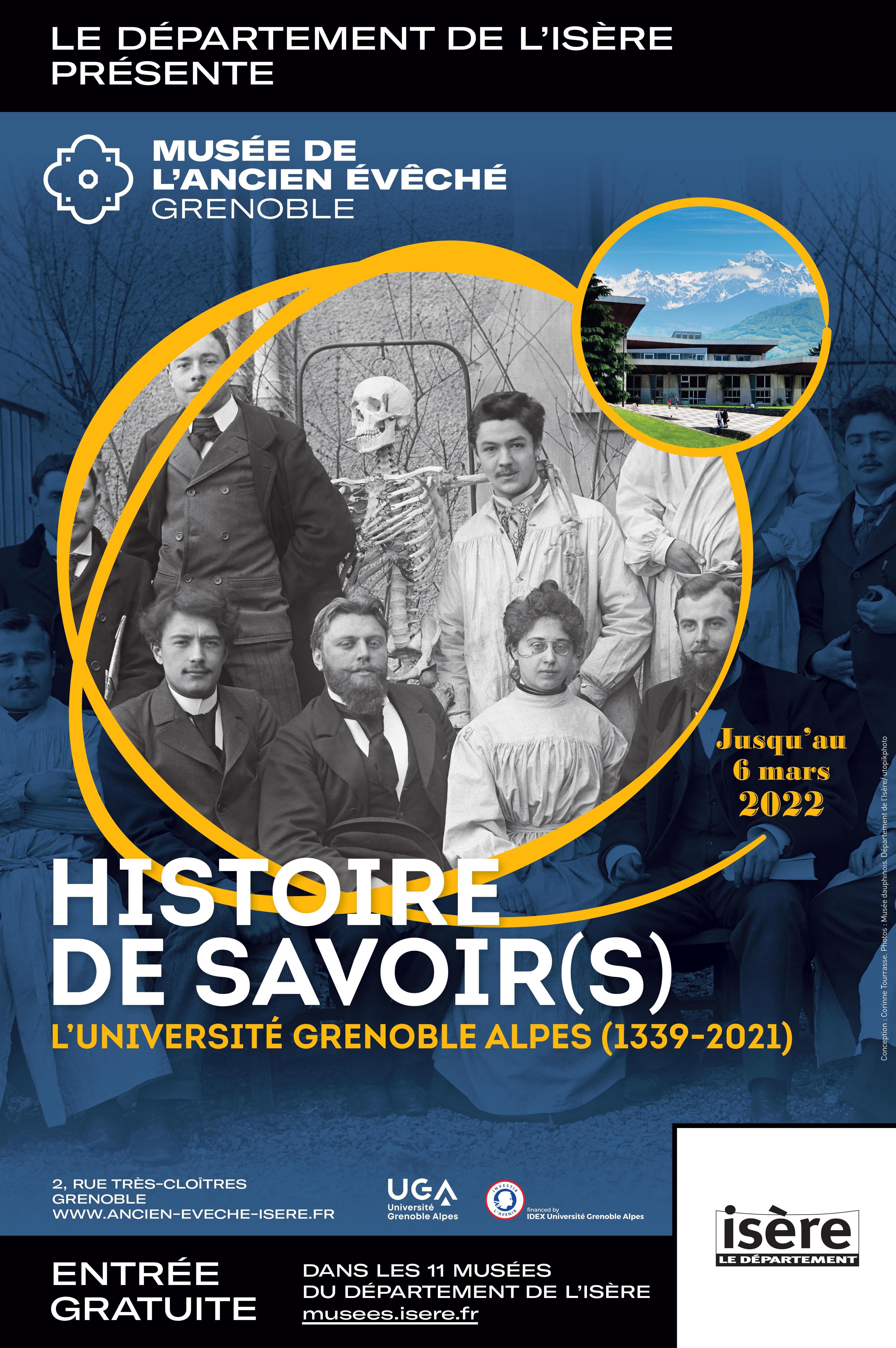 """Affiche exposition """"Histoire de savoir(s)"""""""